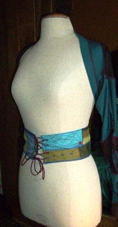 """Ceinture """"patchwork"""" (tissu)"""