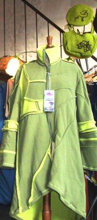 """Manteau """"Sweety Lochky"""" Vert - Tourinnes-la-grosse (12/2011)"""