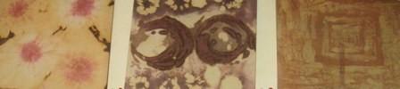 Peinure textile (tableau)