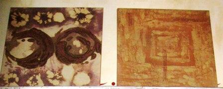 Peinure textile (tableaux) - po 07/2011