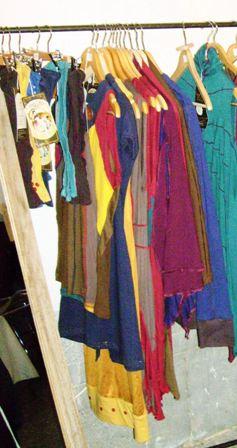 Oriental Zirkus : penderie et accessoires (Anthisnes - 2011)