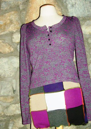 "Blouse ""Liberty"" + Jupe ""Dam's Color"""