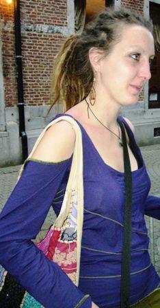 Emeline - Namur en Mai 2009