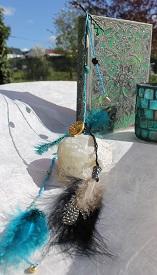 Headband - Tresse pour cheveux plumes